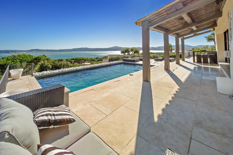 Pool Area, Le Ciel Bleu, Beauvallon, St Tropez Var.