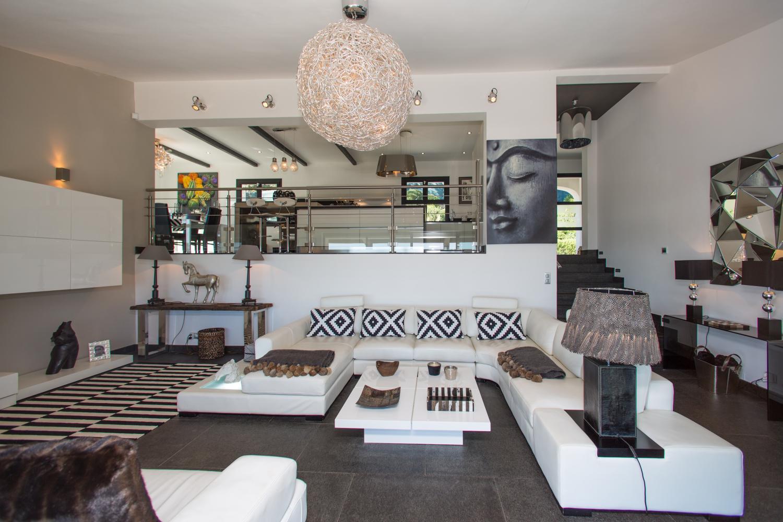 Living Area, Le Ciel Bleu, Beauvallon, St Tropez Var.