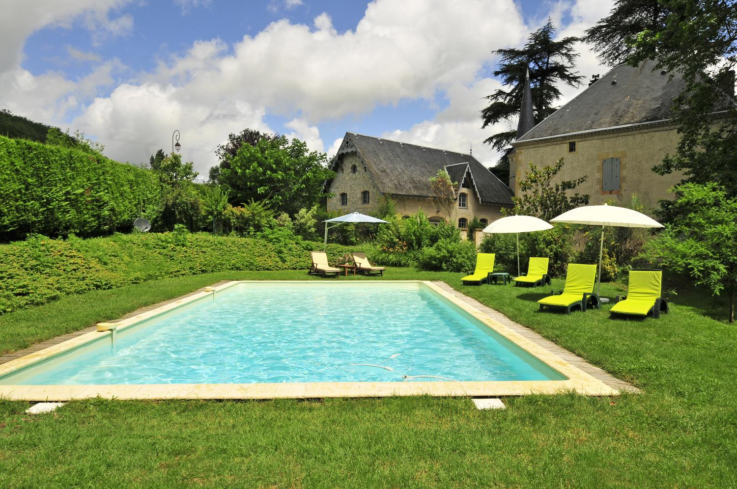 French country cottage in village South West France