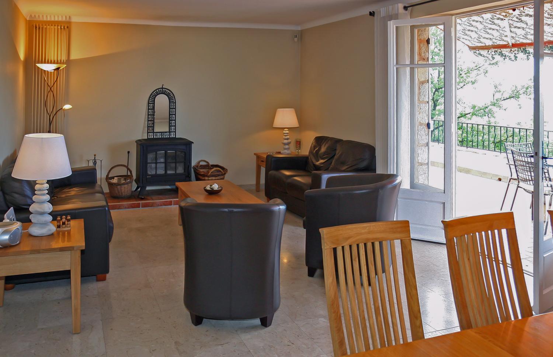 Living Room, Grande Vue, Speracedes, Cote d'Azur.
