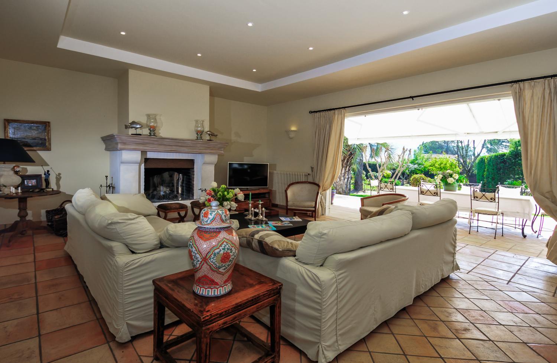 Living Room, L'Estivale, Mougins, Cote d'Azur.