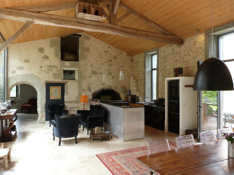 Living Room, La Champetre, Duras, South West France.