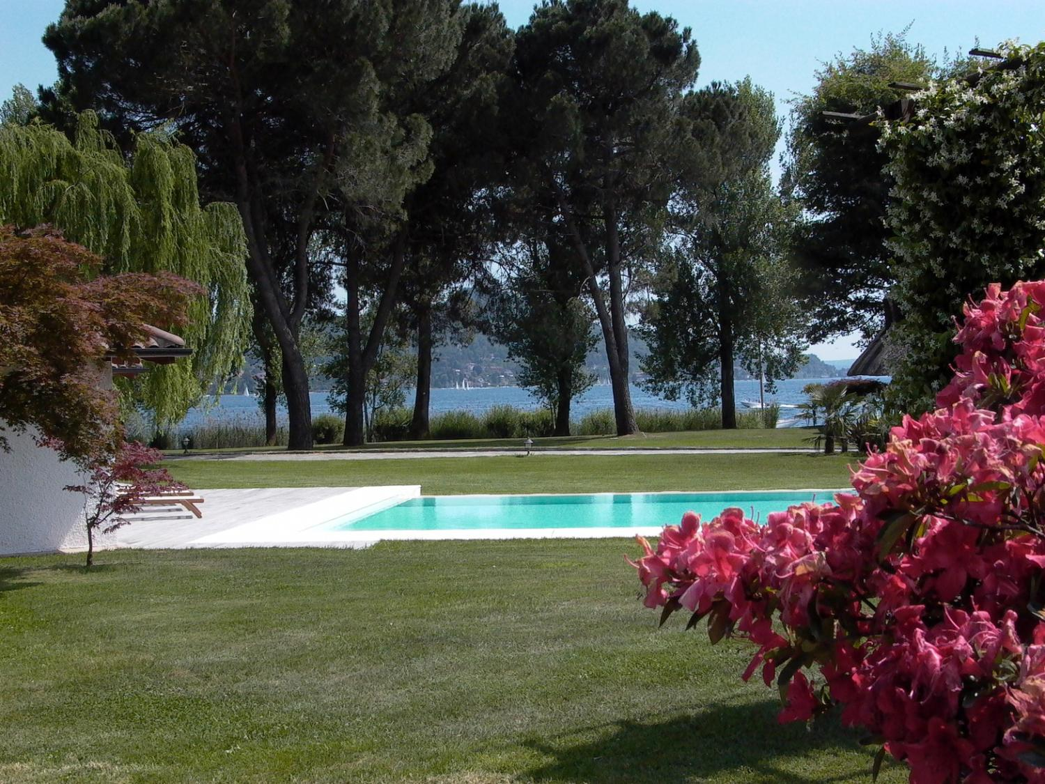 Italian Lakes villa with pool tennis golf