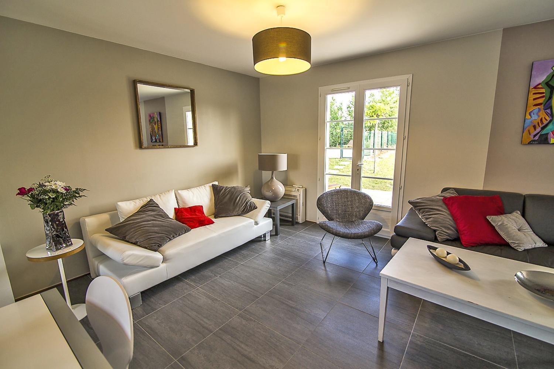 Living Room, L'Orbelle, Mirepoix, Languedoc.