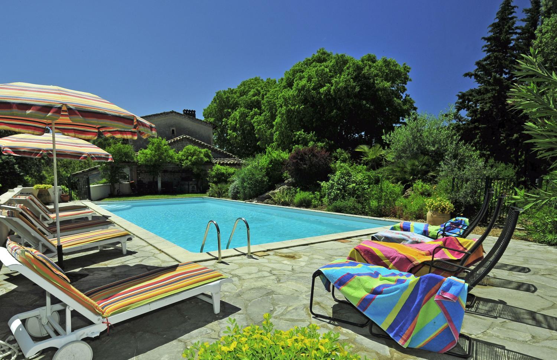 Pool 1, Le Domaine Joli, Sauve, Languedoc.