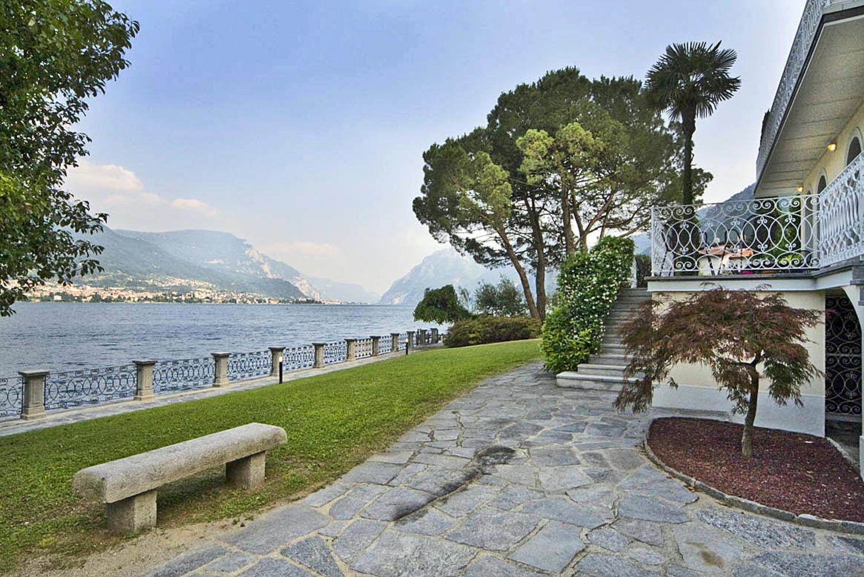 Villa Garden, Dama del Lago, Bellagio, Italian Lakes.