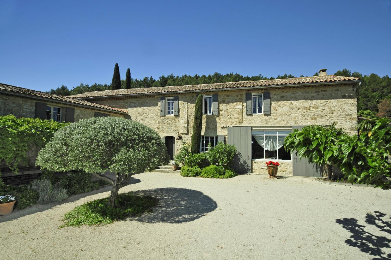Villa Exterior, Foret de Provence, Pernes Les Fontaines, Provence.