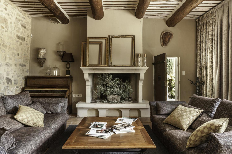 Living Room, Foret de Provence, Pernes Les Fontaines, Provence.