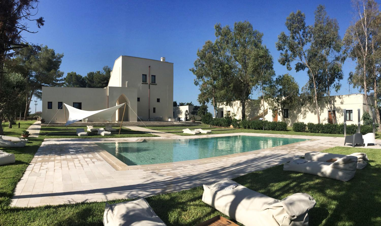Outdoor Pool 1, Idomenea, Gallipoli, Puglia.
