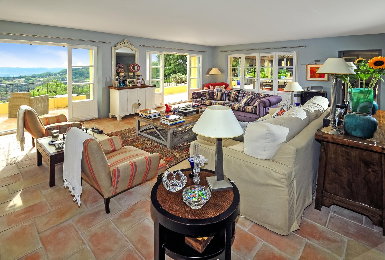 Living Area, La Radieuse, Grimaud, St Tropez Var.