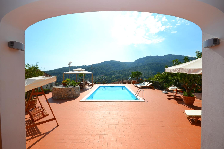 Pool and View, La Livunati, Vibonati, Cilento Coast, Amalfi Coast Campania.