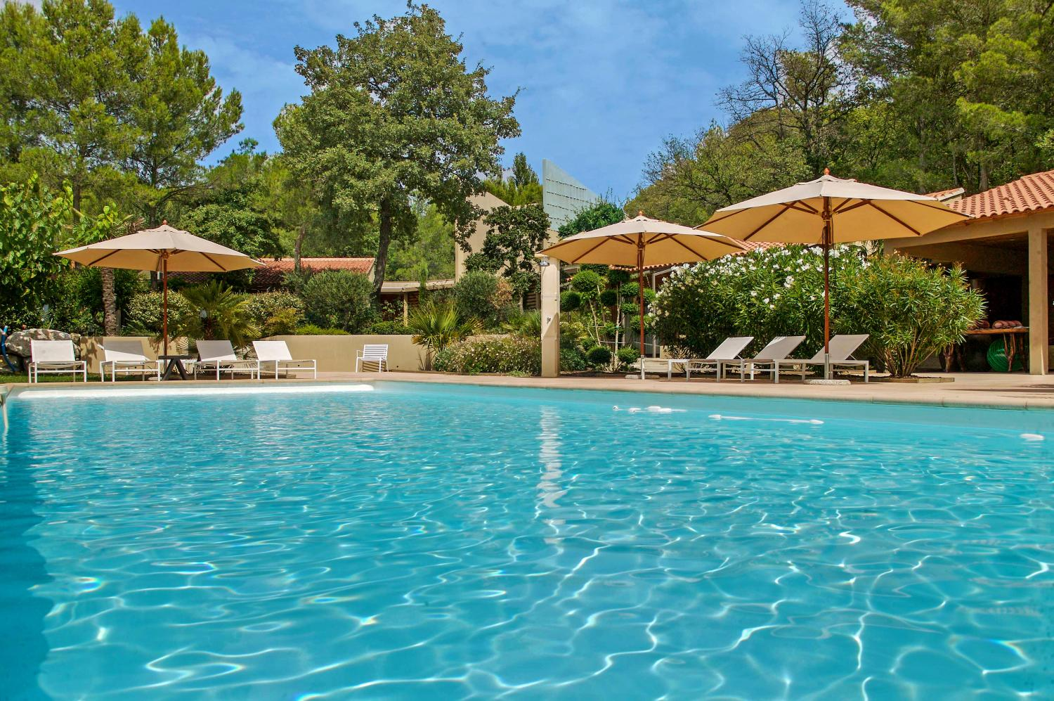 Outdoor Pool, Citrouille, Pernes Les Fontaines, Provence.
