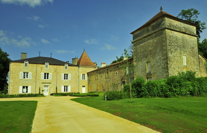 Villa Exterior, Chateau de Redon, Hautefort, Dordogne.