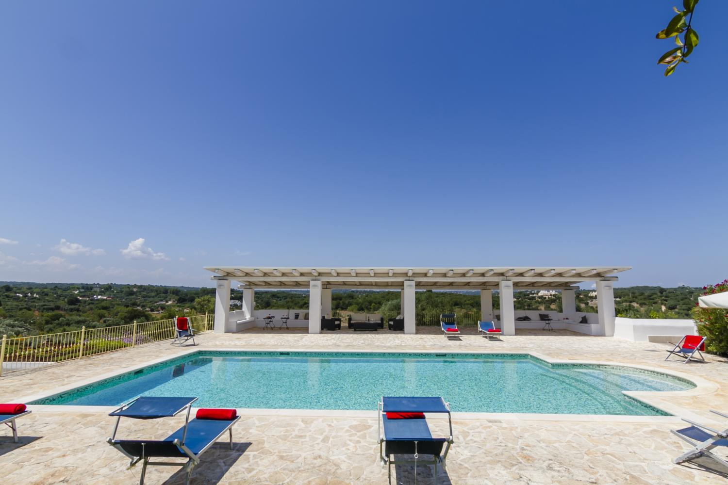 Trullo with pool Apulia