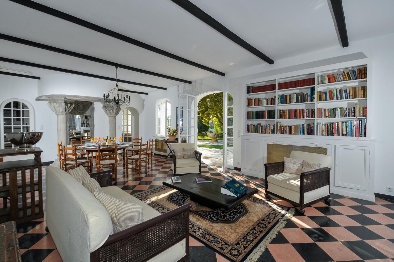 Living Room, La Floraison, Grasse, Cote d'Azur.