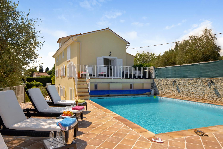 Outdoor Pool 1, La Floraison, Grasse, Cote d'Azur.