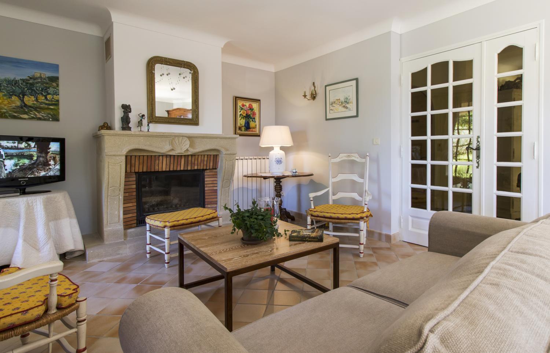 Living Room, La Luberonne, St Saturnin Les Apt, Provence.