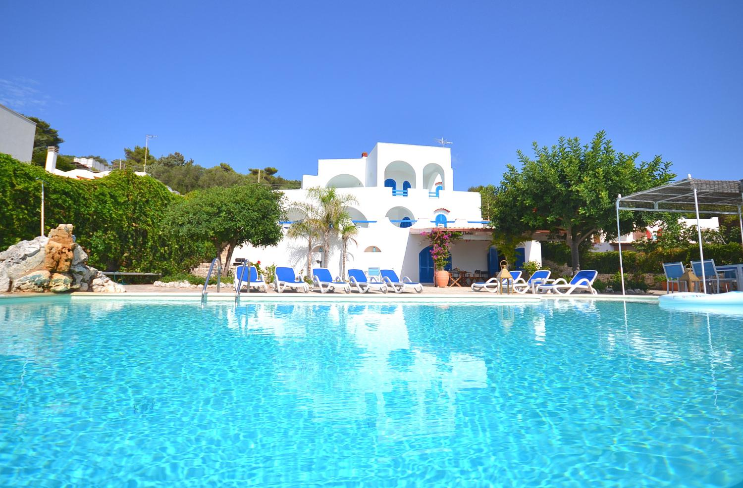 Apulia exclusive seafront villa with pool