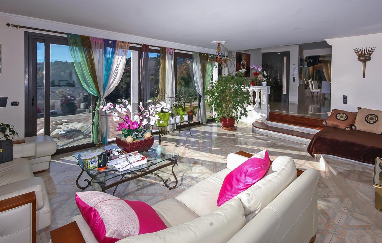 Living Area, La Martinette, Menton, Cote D'Azur.