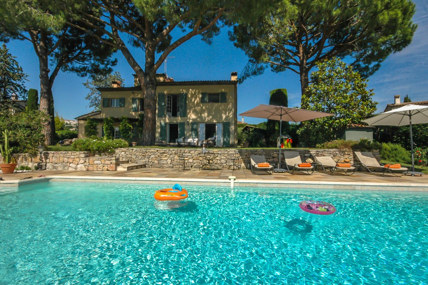 cote d'azur villa for 7