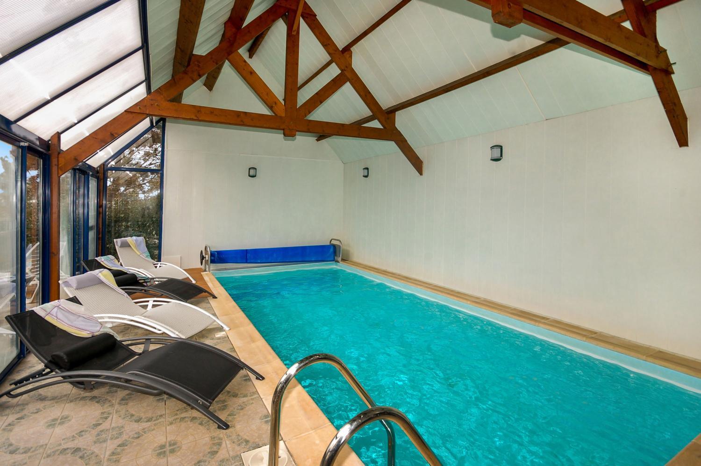 Indoor Pool 1, Katell, Moelan-sur-mer, Brittany.