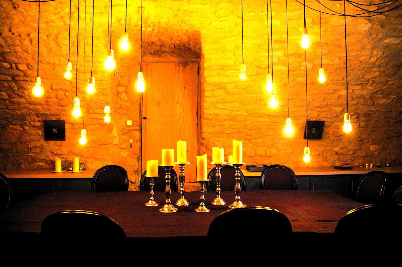 Dining Area, La Libellule, nr Uzes, Gard, Languedoc.
