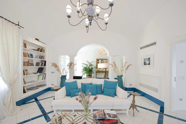 Living Room, Il Maestro, Positano, Amalfi Coast Campania.