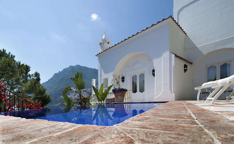 Outdoor Pool, Il Maestro, Positano, Amalfi Coast Campania.