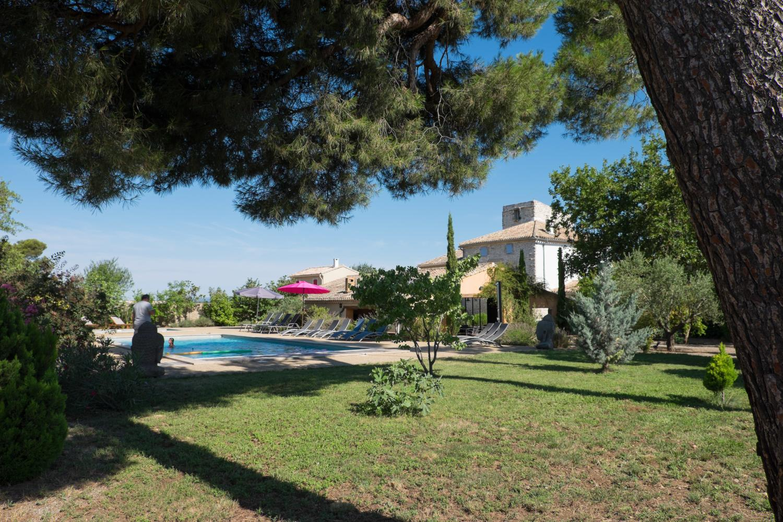 Villa garden, Belles Vignes, Languedoc.