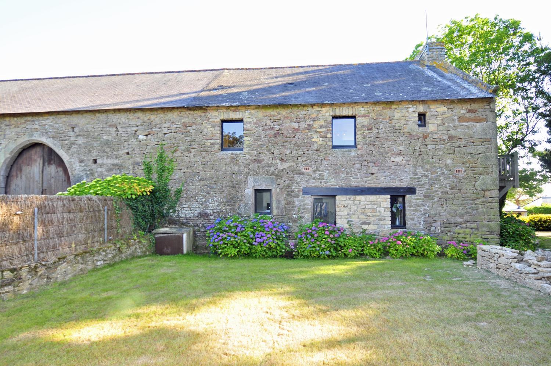 Villa Exterior, Grange du Morbihan, Baden, Brittany.