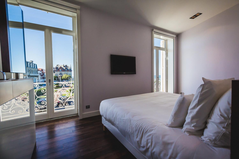 France Biarritz La Raffinee vie from bedroom 1