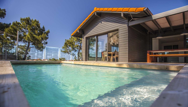 Biarritz, L'Oceanique, villa with pool