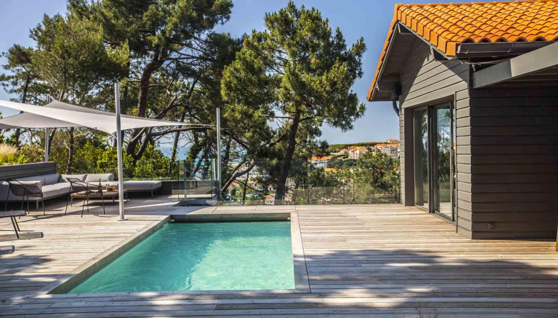 France, Biarritz, L'Oceanique villa with pool