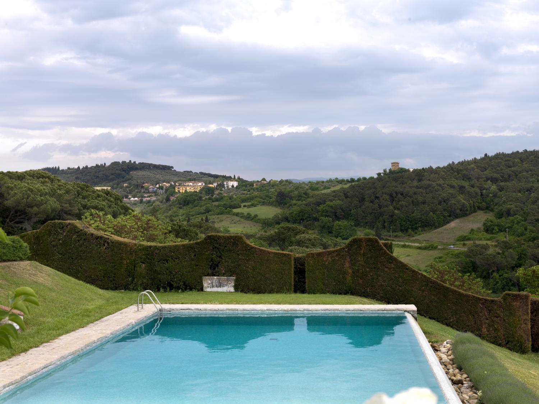 pool with views Palazzo Impruneta, Tuscany,