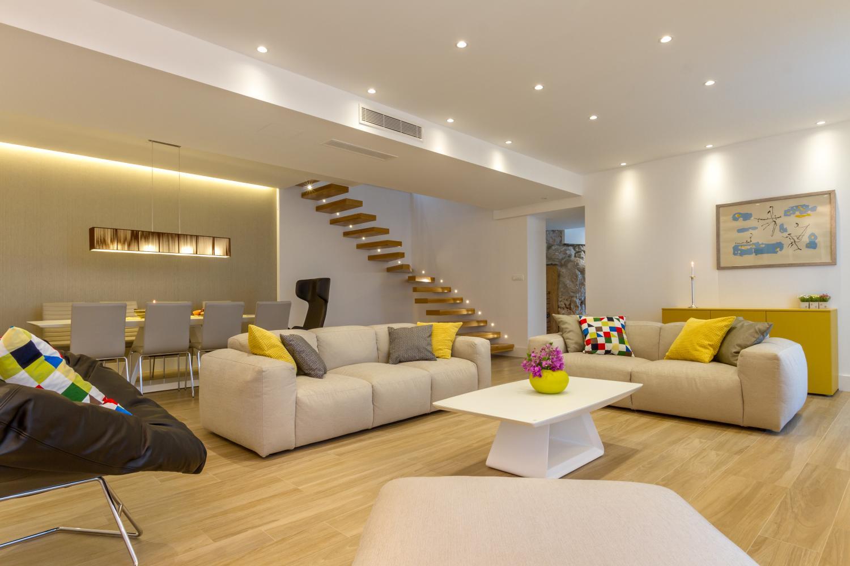 croatia, Split Riviera, Primosten, villa Nika, indoor living