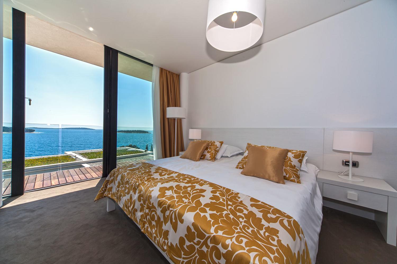 Dalmatian coast, Primosten, Sea view VII, bedroom 1