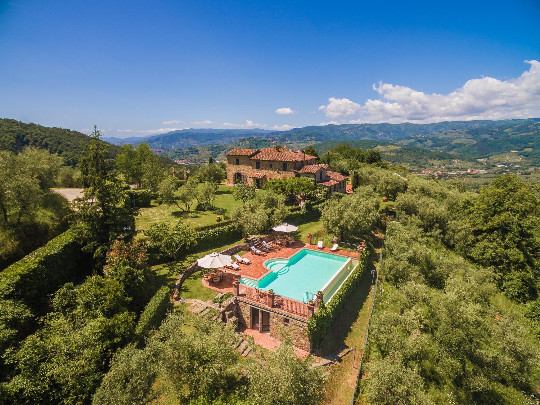 Overview, Villa Bucolica I,Tuscany, Monsummano Terme