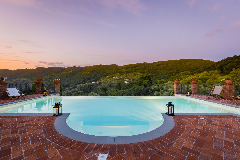 Infinity pool, Villa Bucolica I,Tuscany, Monsummano Terme