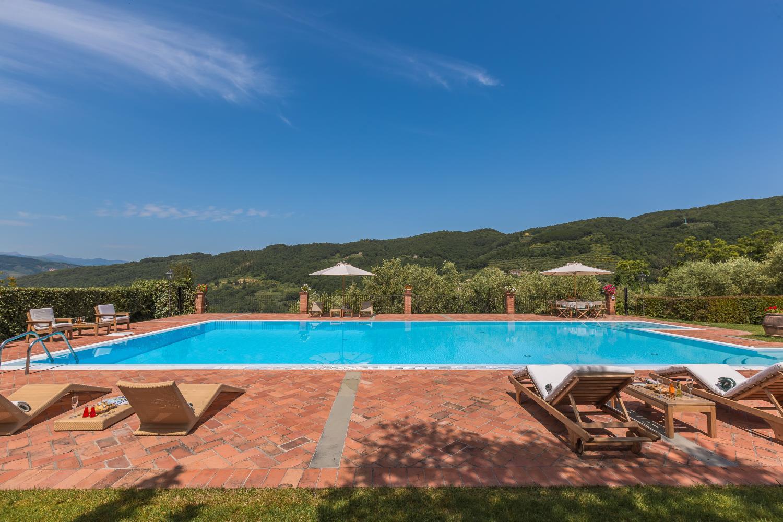 Swimming pool, Villa Bucolica II, Tuscany, Monsummano Terme