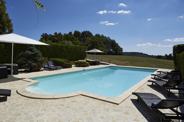 Swimming pool Baronesse de Sarlat, Dordogne, Sarlat en caeda