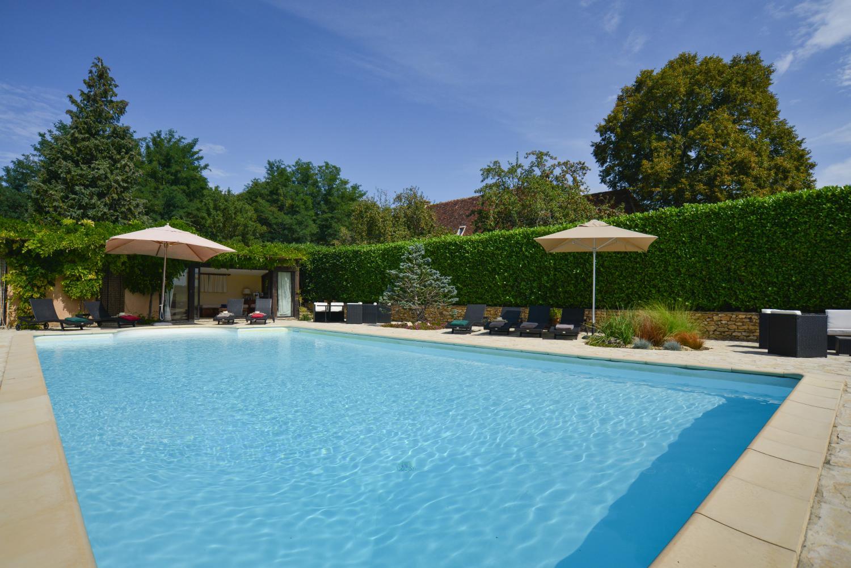 Swimming pool, Baronesse de Sarlat, Dordogne, Sarlat en caeda