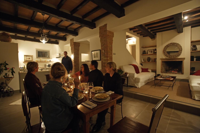 dining, Il Sismano, Avigliano, nr Todi, Umbria