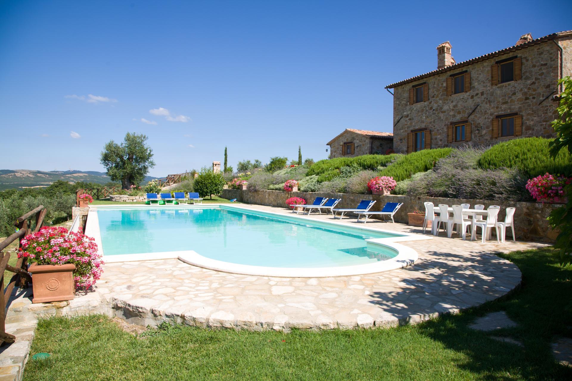 Outdoor Pool 2, Domus Romana, Todi, Umbria.