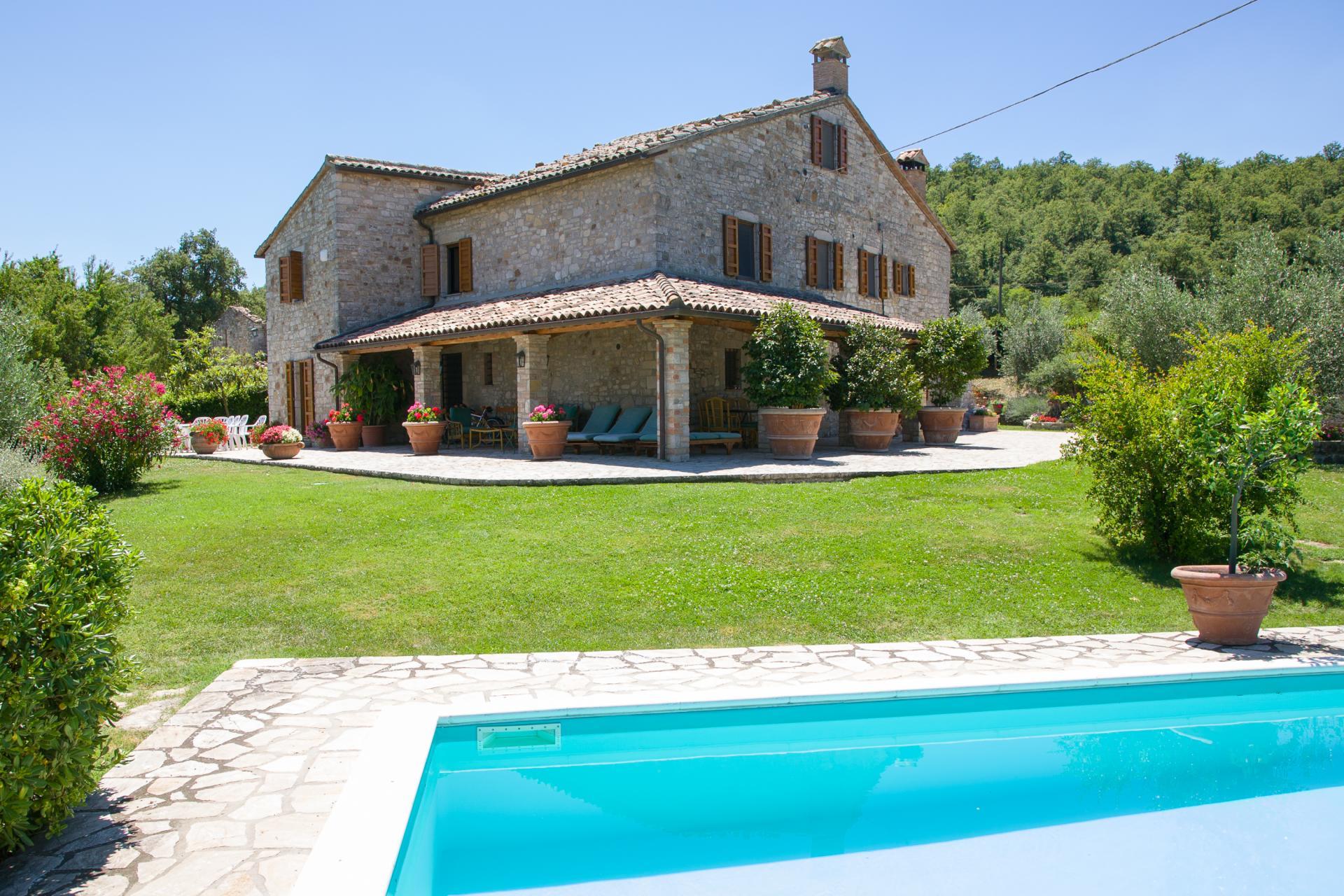 Outdoor Pool 2, La Colomba, Romazzano, Umbria.