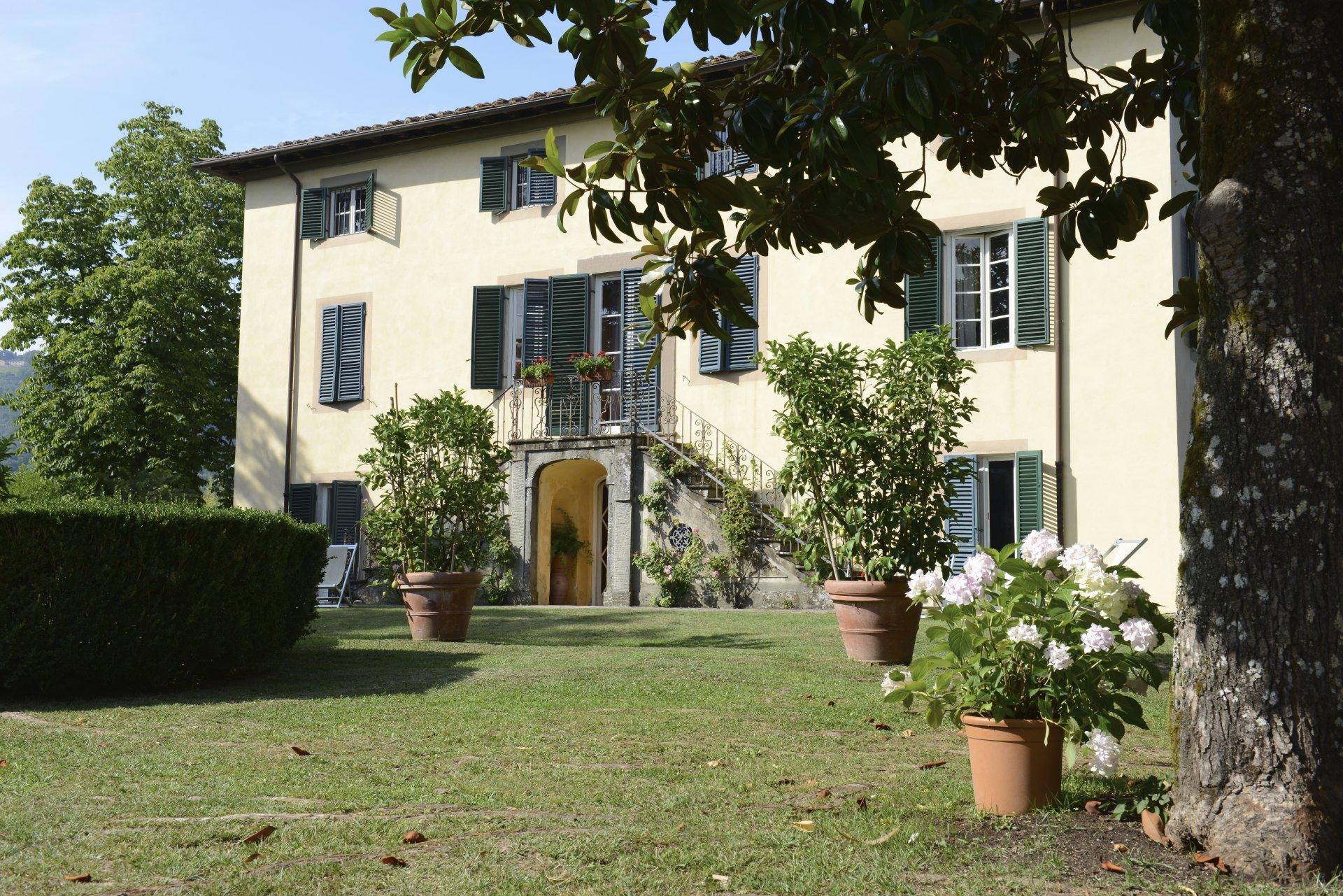 Villa Exterior, Il Maniero, Lucca, Tuscany.