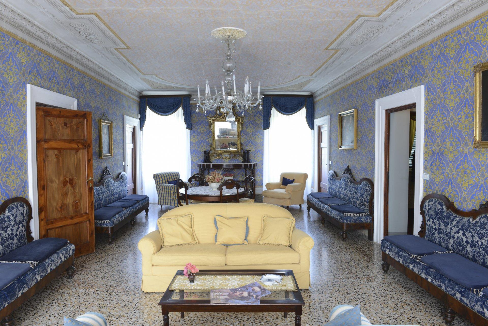 Living Room, Il Maniero, Lucca, Tuscany.