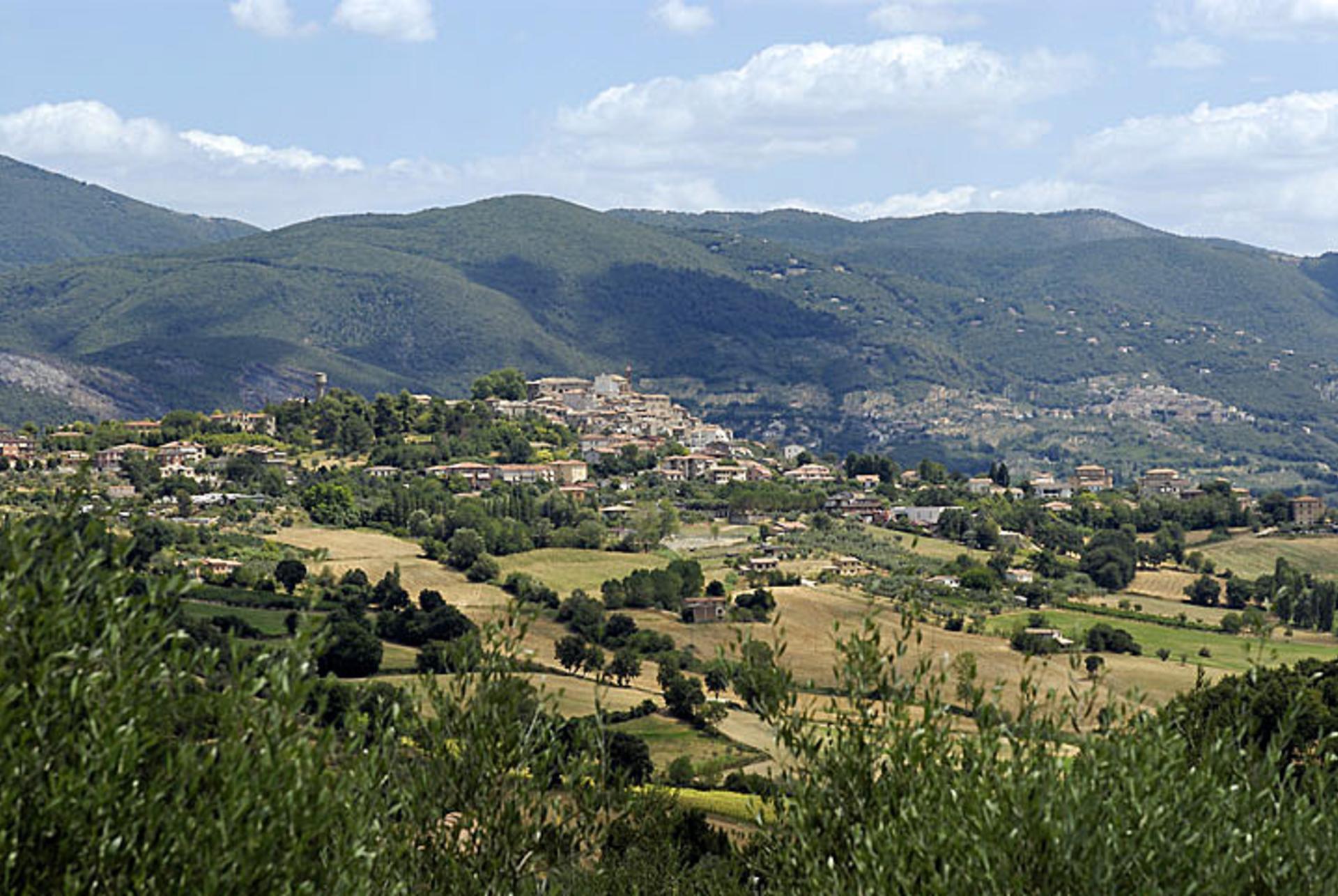 Views from villa, Casa Alessia, Lazio, Selci in Sabina.