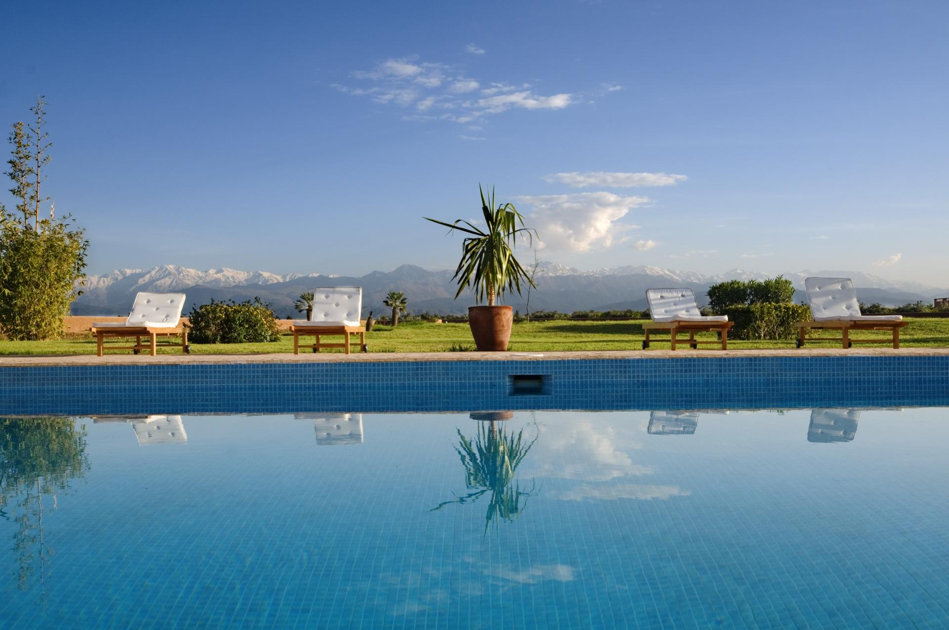 villa Marrakech rent with air conditioning