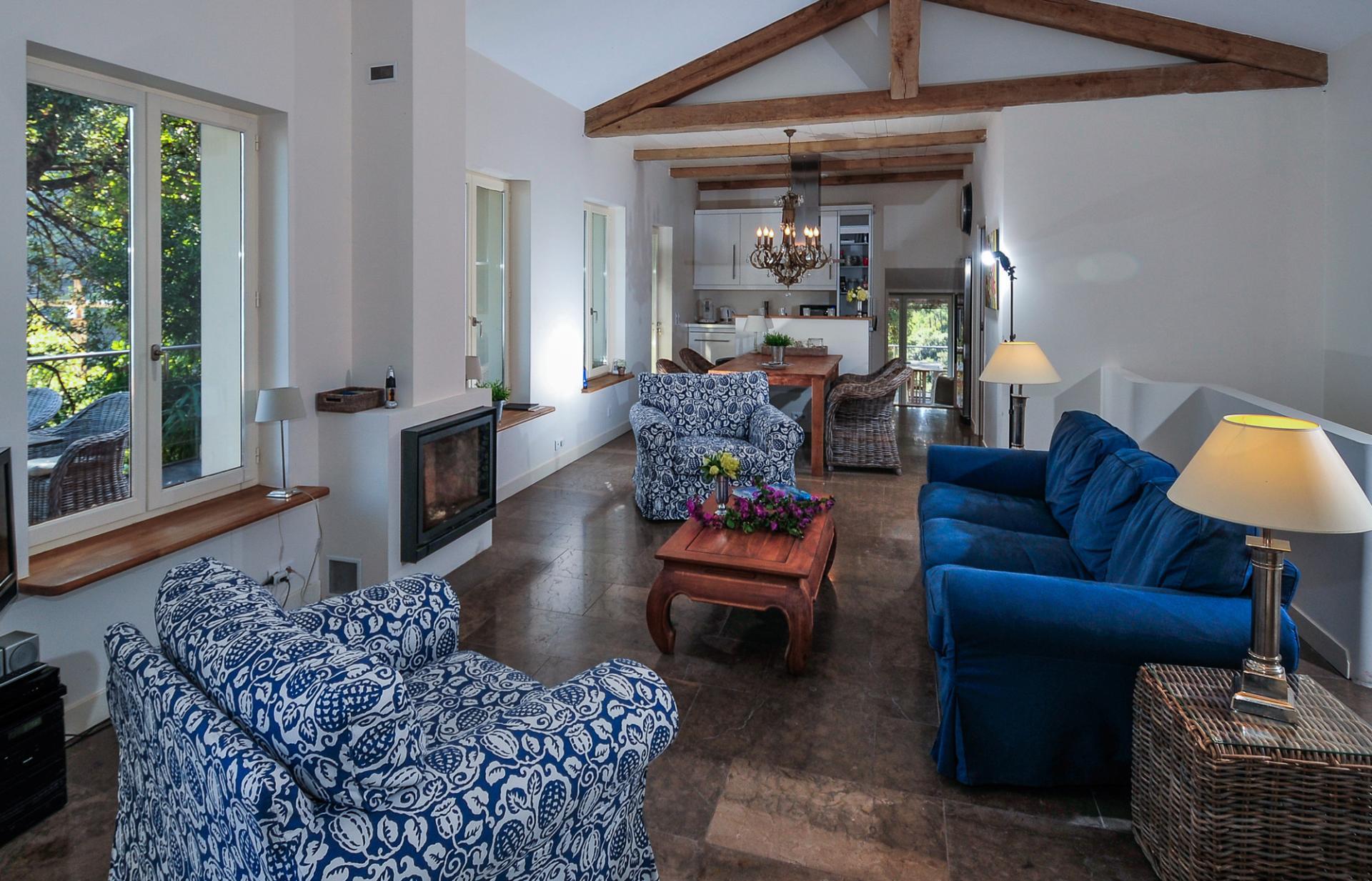 Living Room 2, La Cachette, Theoule-sur-mer, Cote d'Azur.