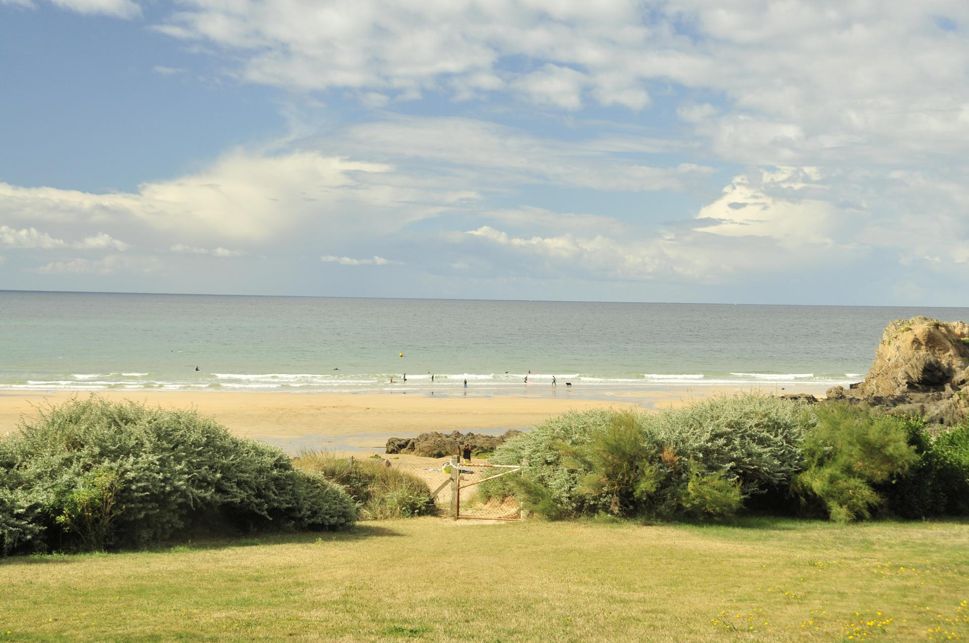 Villa Beach View, Cottage on the Beach, Le Pouldu, Brittany.